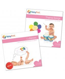 CD Set 1 - Lullabies CD and Theme Songs CD