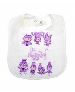 The Notekins Bib