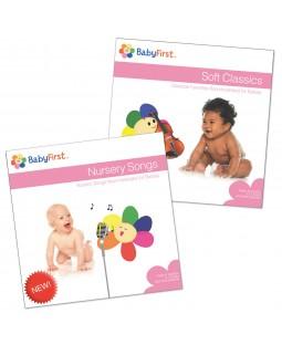 CD Set 3 - Soft Classics CD and Nursery Songs CD