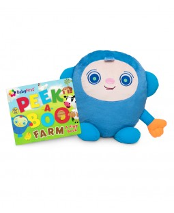 Peekaboo Set - Jumbo Plush Toy and Peekaboo Book
