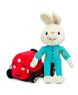 Harry the Bunny and Tec the Tractor Plush Collection
