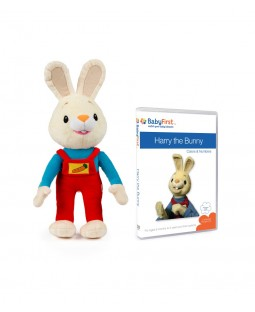 Harry the Bunny Set 1 - Plush Toy and Colors & Numbers DVD