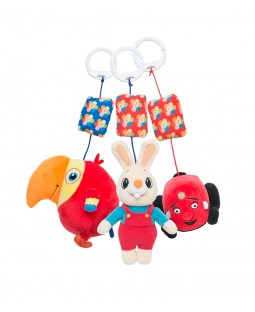 Harry, Tec and Larry Stroller Toy Combo