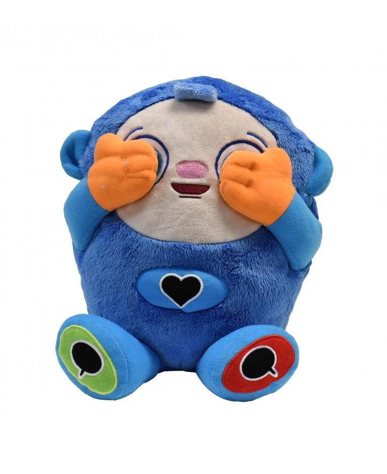 interactive peek a boo plush toy
