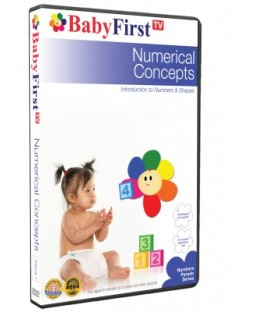 Numerical Concepts - Introduction to Numbers & Shapes DVD