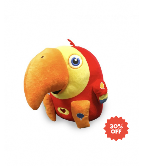 VocabuLARRY Plush Toy - INTERACTIVE