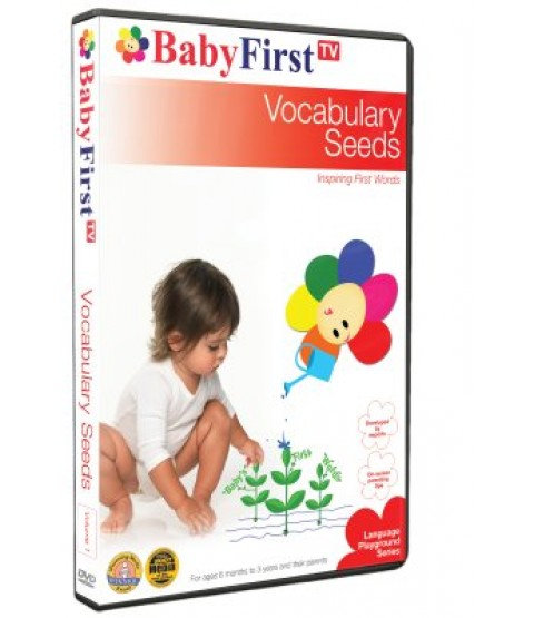 Vocabulary Seeds - Inspiring First Words DVD