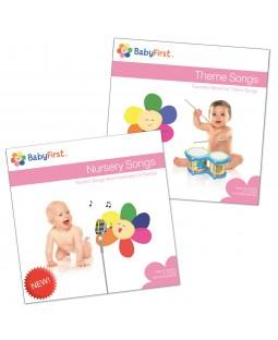 CD Set 2 - Theme Songs CD and Nursery Songs CD