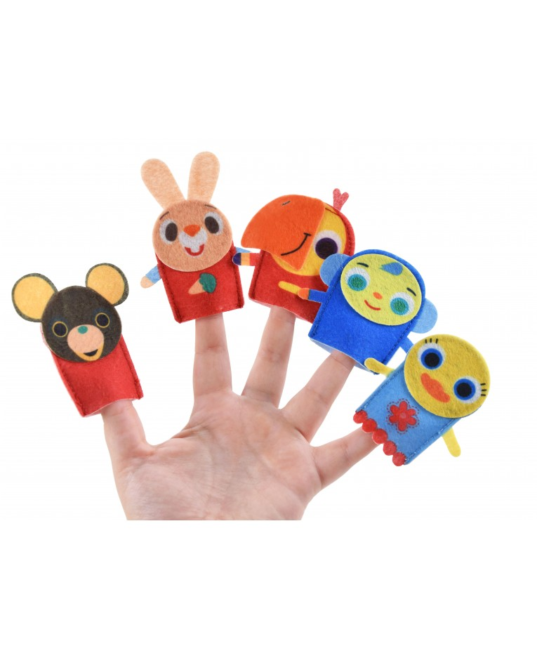 harry friends finger puppets toys
