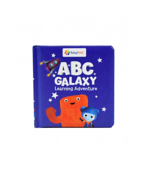 My First Abc Book Abc Galaxy Learning Adventure