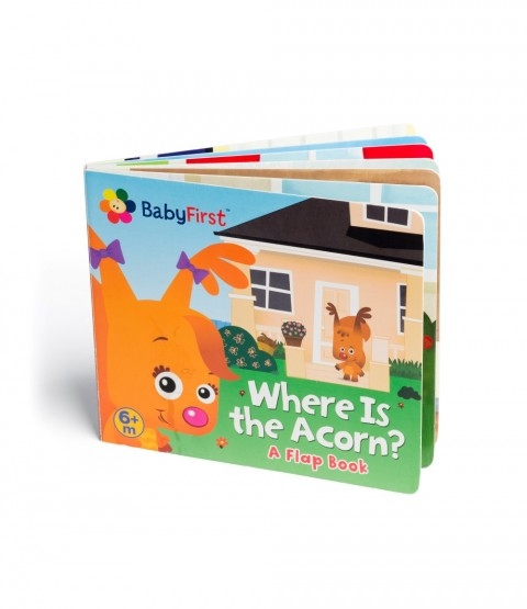 Where Is the Acorn? A Flap Book