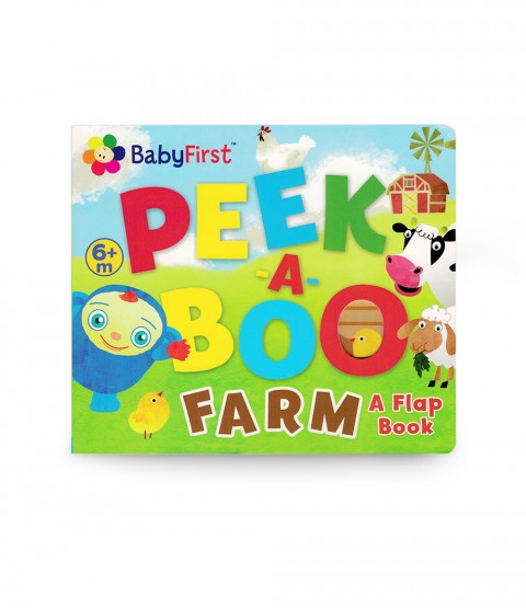 Peek A Boo Farm A Flap Book Peek A Boo Shop By Character