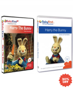 Harry the Bunny DVDs Combo
