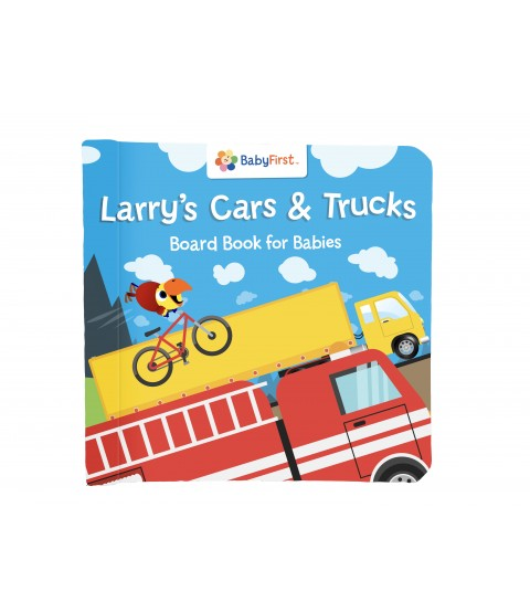 VocabuLarry's Cars & Trucks Book