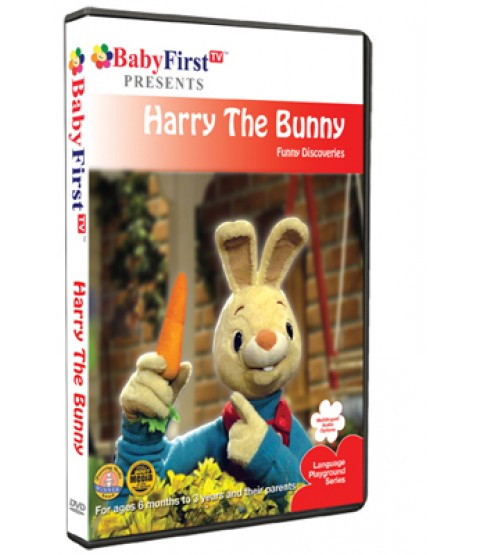 Harry the Bunny - Funny Discoveries DVD