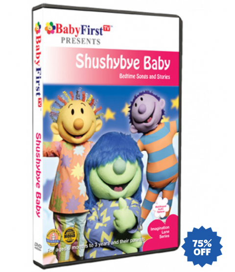 Shushybye Baby - Bedtime Songs & Stories DVD