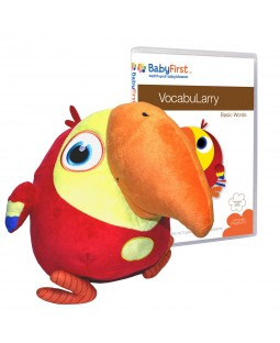 VocabuLarry Set 1 - Plush Toy and VocabuLarry - Basic Words DVD