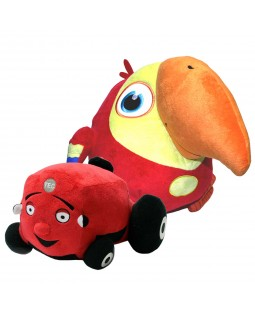 Tec the Tractor and VocabuLarry Plush Collection