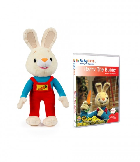 Harry the Bunny Set 2 - Plush Toy and Funny Discoveries DVD