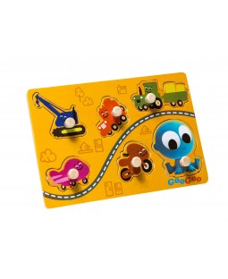 GooGoo & Vehicles Wooden Puzzle