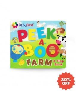 Peek-A-Boo Farm - A Flap Book