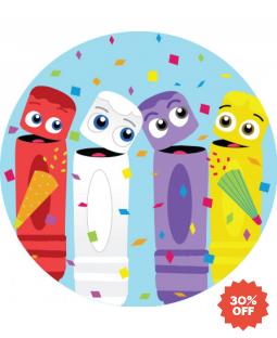 The Color Crew Sticker