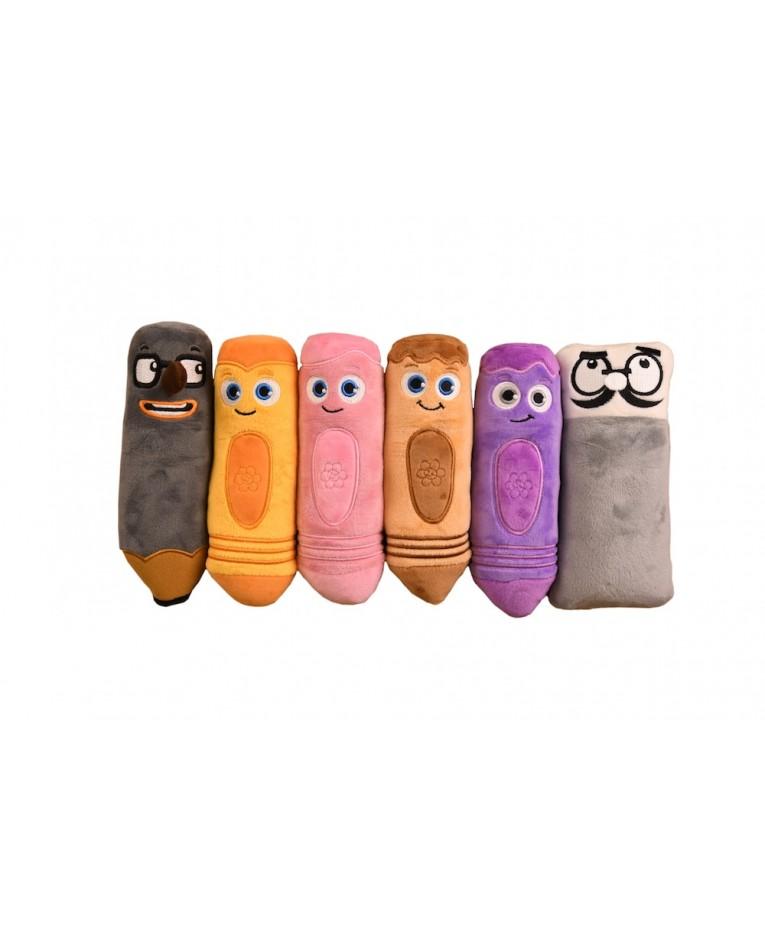 Interactive Color Crew Plush Second Set - Toys