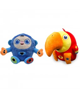 Interactive Plush Toys Collection - Peek-a-Boo and VocabuLarry